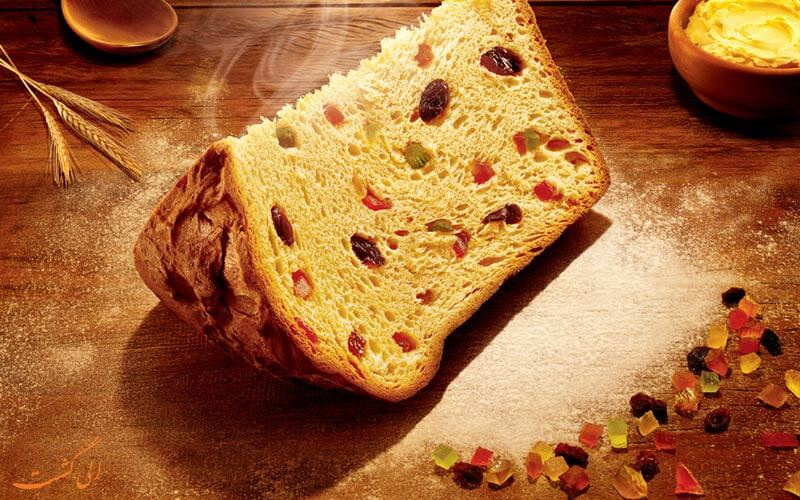کیک Panettone