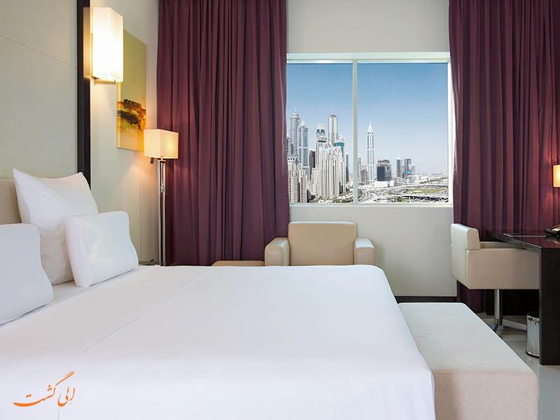 هتل پولمن دبی جمیرا لیکس تاورز