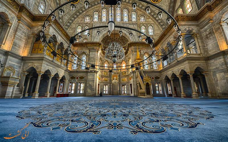 سالن نماز مسجد سلطان قابوس عمان