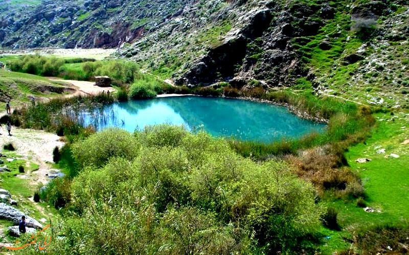 رودخانه دوقلو در ایلام