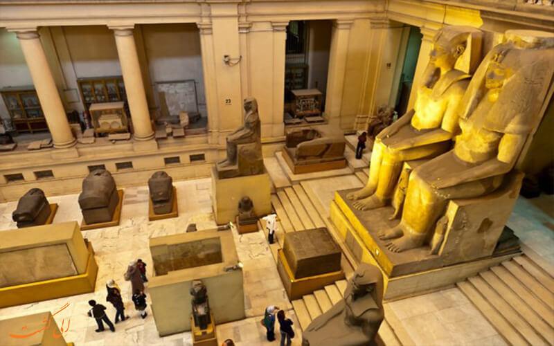 معبد باستانی مصری