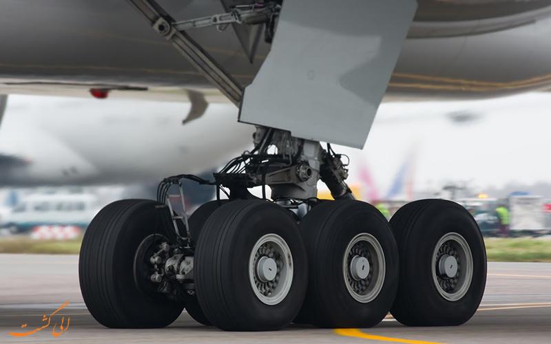 چرخ های هواپیما