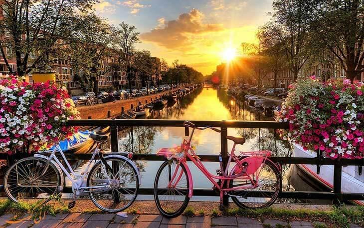 دوچرخه سواری آمستردام