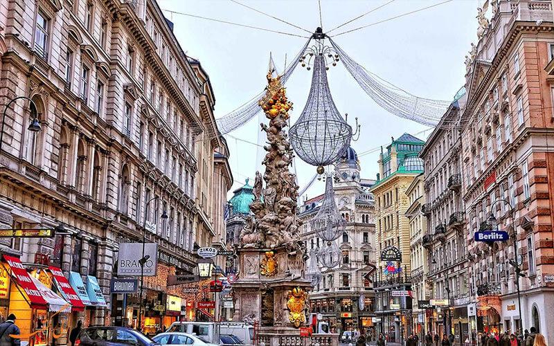 جاذبه های توریستی اتریش