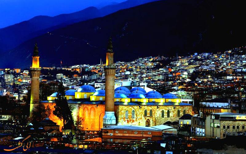 مسجد جامع در بورسا