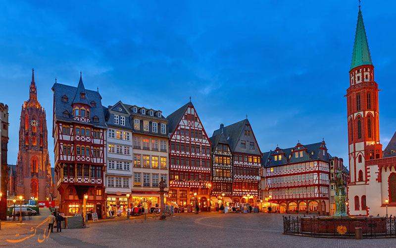 بهترین جاهای فرانکفورت