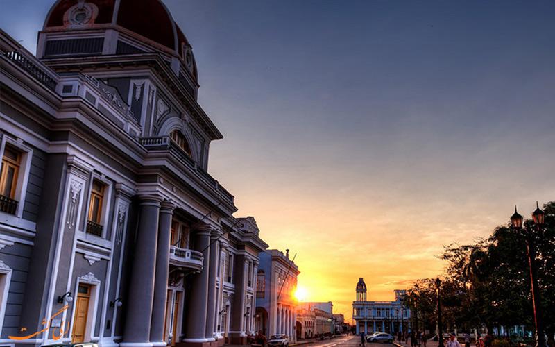 شهر سینفوئگوس در کوبا