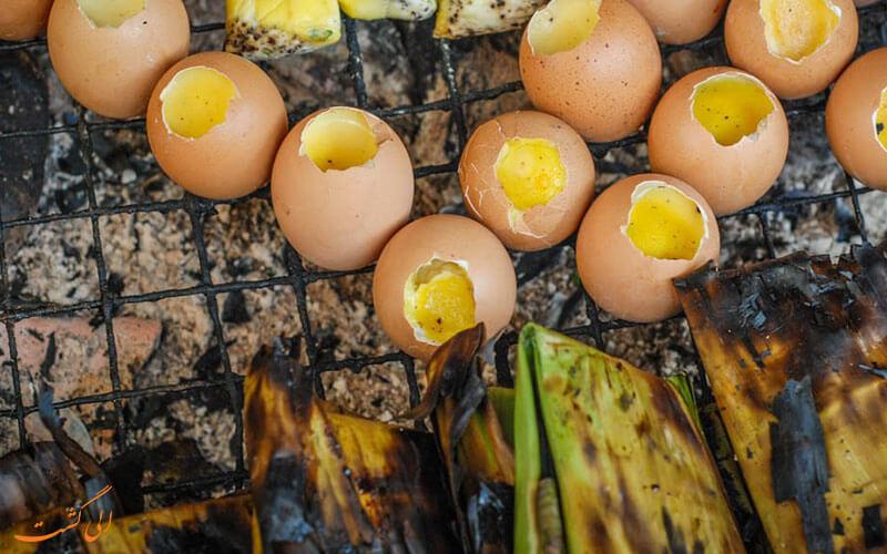 تخم مرغ کبابی