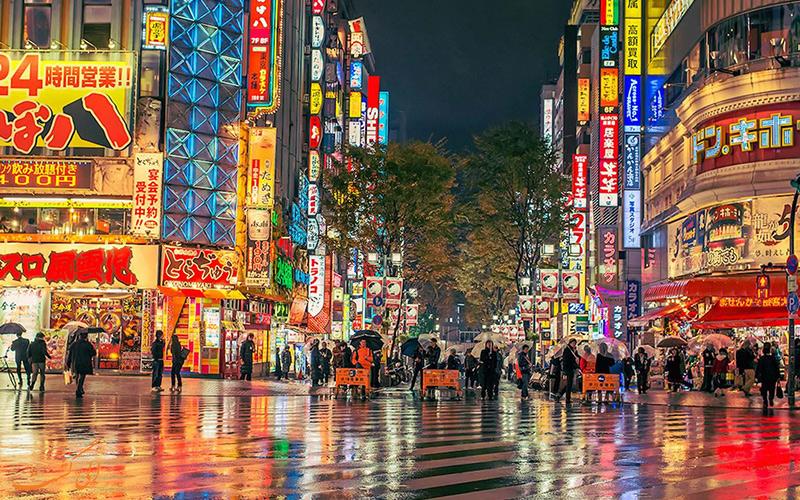 خیابان گینزا در توکیو