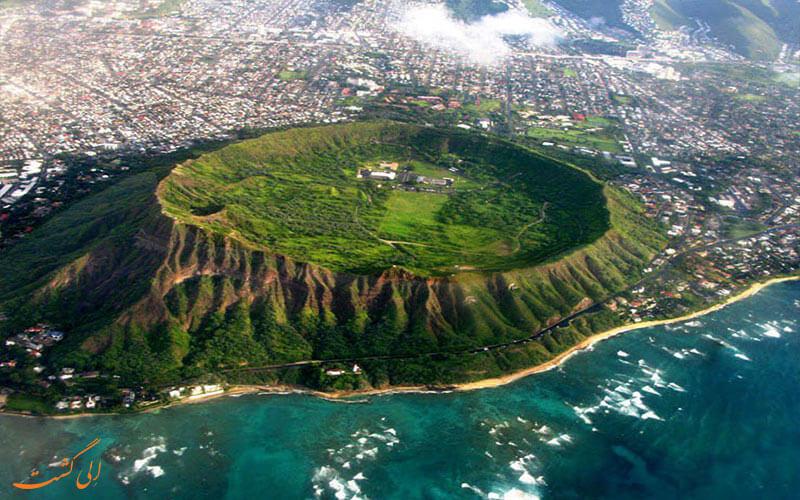 دره آتشفشان هاوایی