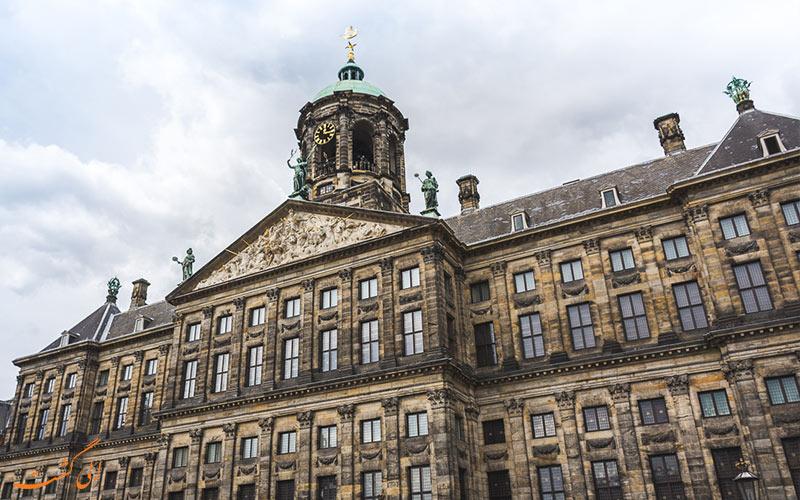 قصر زیبای آمستردام
