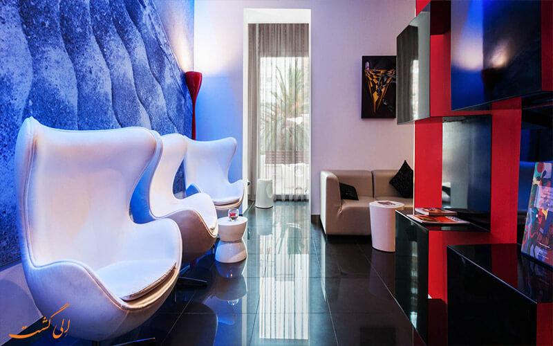 نمایی از اتاق های هتل یورواستارز