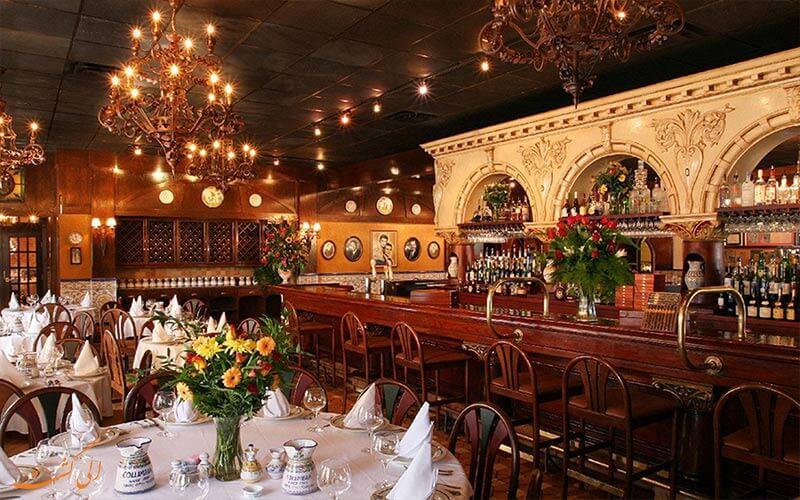 رستوران اسپانیایی هتل یورو استارز