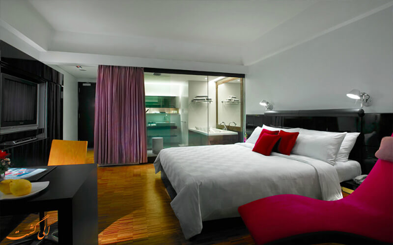 اتاق های هتل مایا