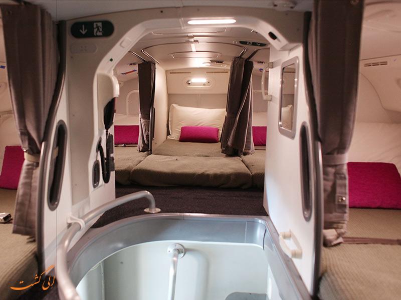 اتاق خواب هواپیما