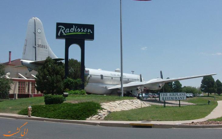 رستوران هواپیما در کلرادو