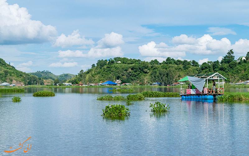 دریاچه عجیب در هند