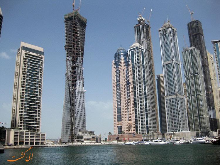 برج اینفینیتی در دبی