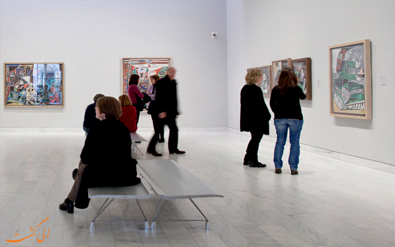درون موزه پیکاسو