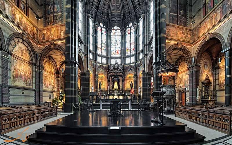 طراحی داخلی کلیسا