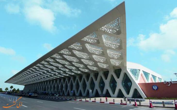 معماری فرودگاه مراکش