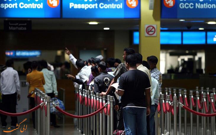 ازدحام گردشگران به فرودگاه دبی