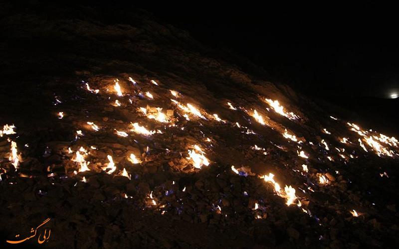 کوهی آتشین در ایران