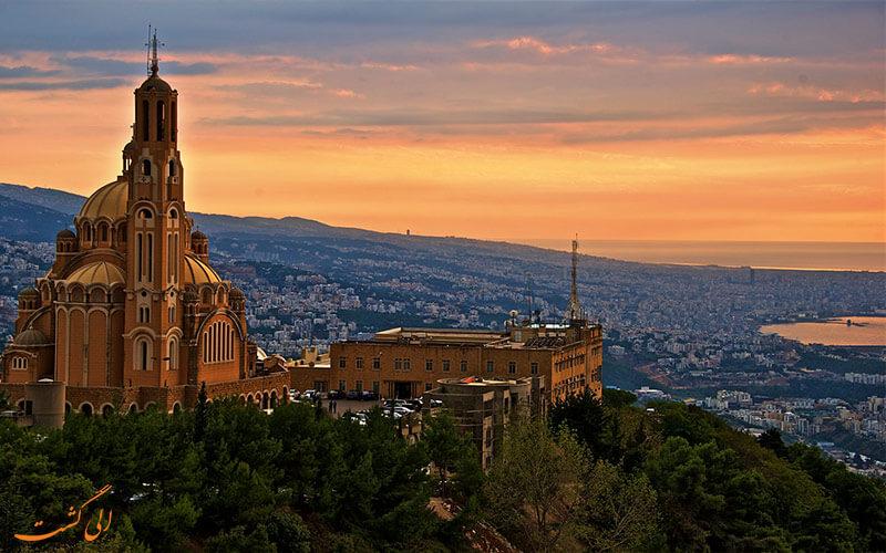جاذبه های لبنان