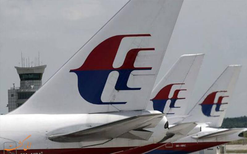 لوگو هواپیمایی مالزی