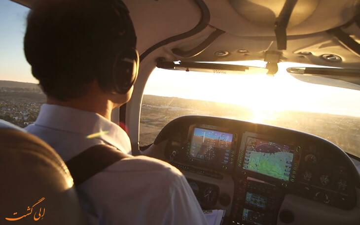 موقعیت یابی هواپیما