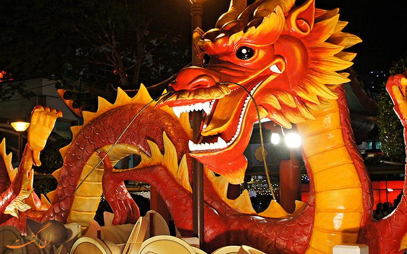 تلفیق فرهنگ چینی با سال نو میلادی