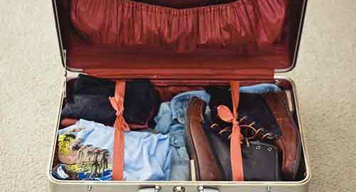 چمدان بستن