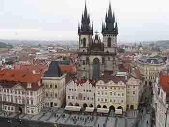 ویدیو از پراگ