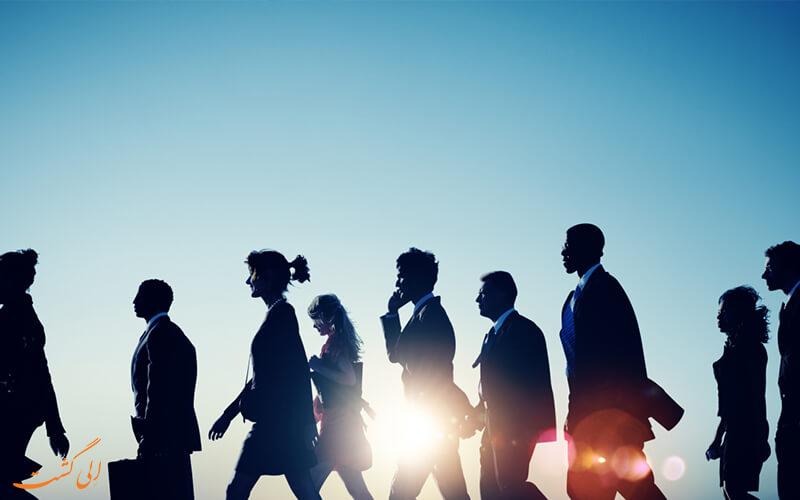 کارمندان یک سازمان پویا
