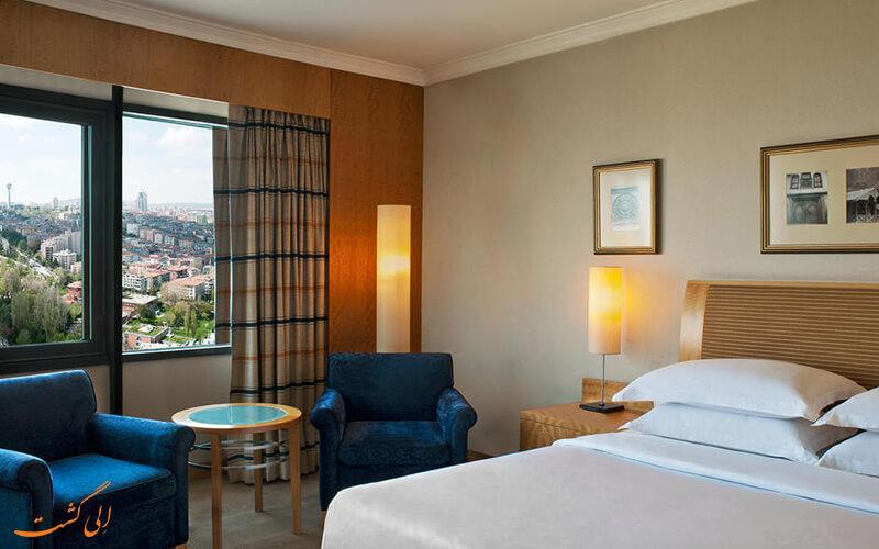 اتاق های هتل شرایتون