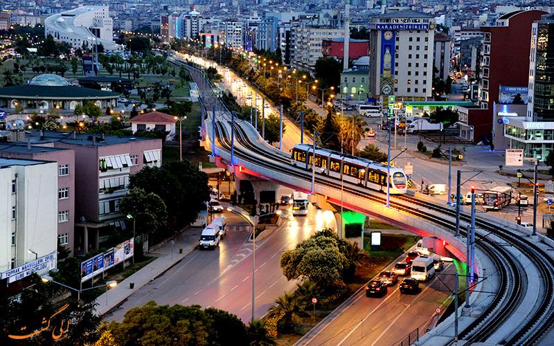 شهر سامسون در ترکیه