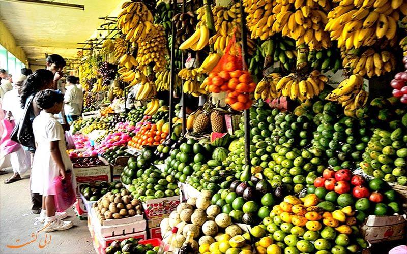 بازارهای محلی سریلانکا