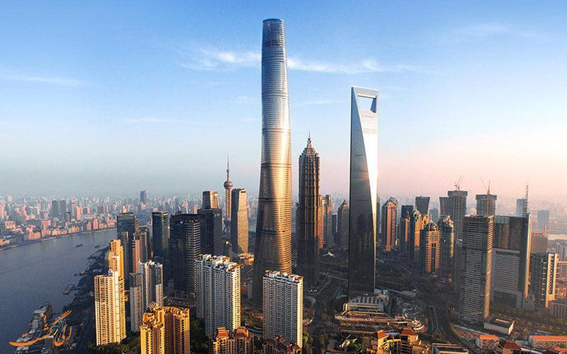 برج های شانگهای در چین