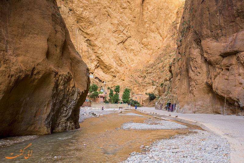 عکس دره تودرا در مراکش