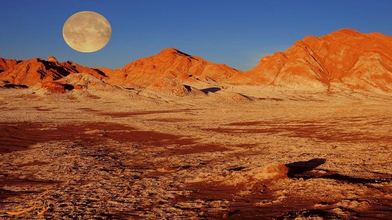 عکس های دره ماه شیلی