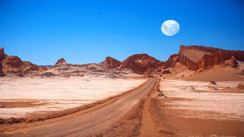تصاویر دره ماه شیلی