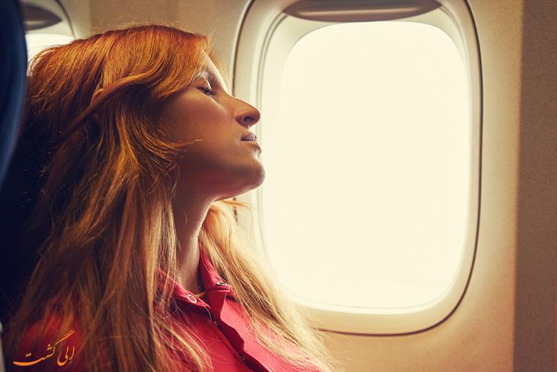 دمای هواپیما
