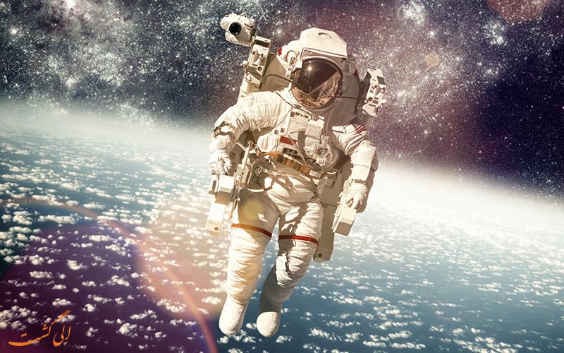 فضانوردی در فضا