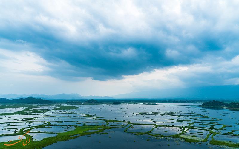 دریاچه لوکتاک