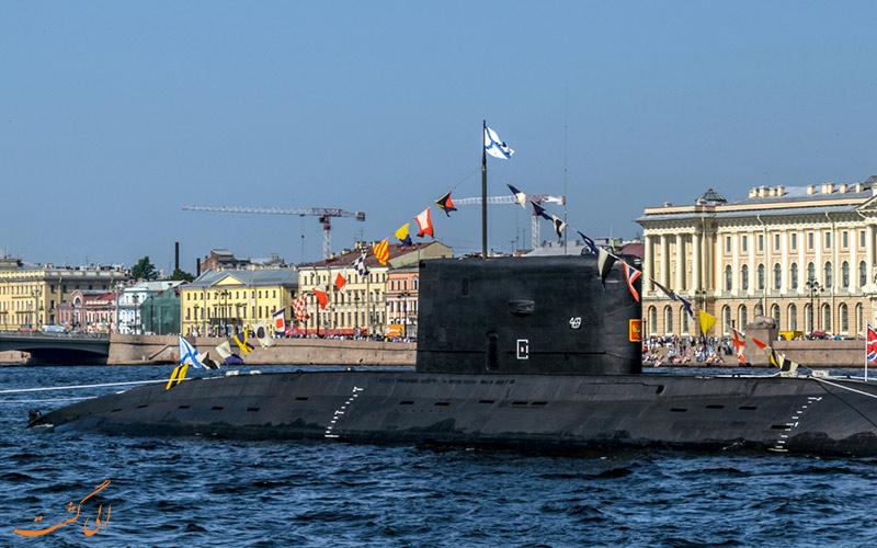 طرز کار زیر دریایی