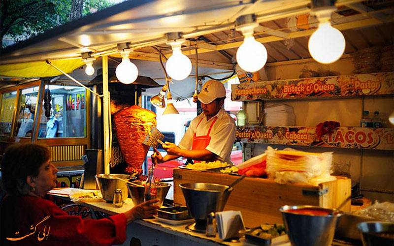 بوفه های غذای خیابانی در تایوان