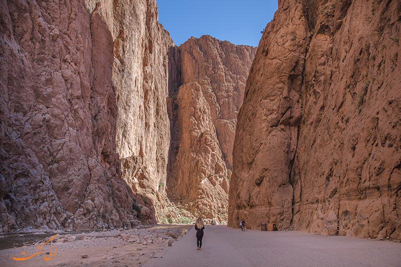 دره تودرا در مراکش