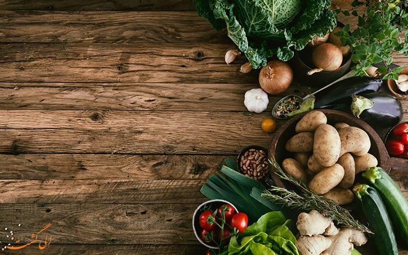 اپلیکیشن گیاهخواری و گیاهی