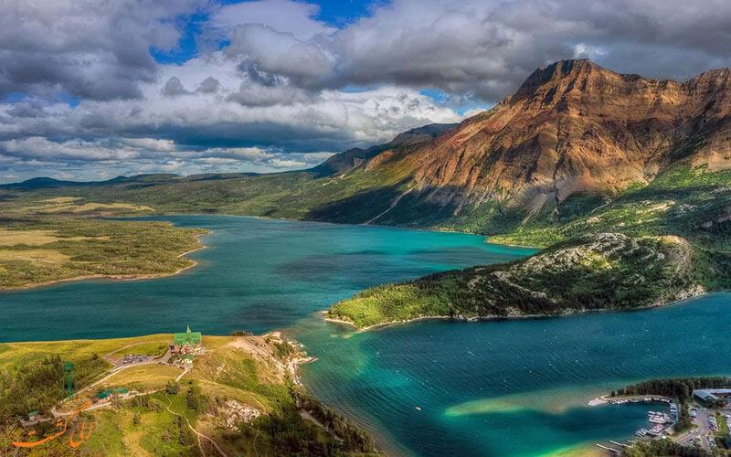 پارک ملی دریاچه های واترتون