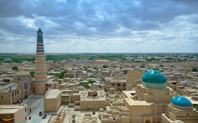 شهرهای ازبکستان